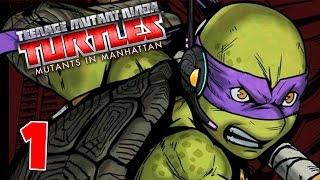 TMNT Mutants In Manhattan - Ep. 1 - Mutants Vs. Bebop! - Teenage Muntant Ninja Turtles Gameplay