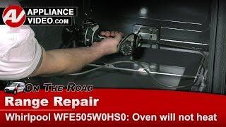 Whirlpool - Range / Oven - Not heating - Diagnostic & Repair - Bake Element