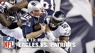 Eagles vs. Patriots | Week 13 Highlights | NFL