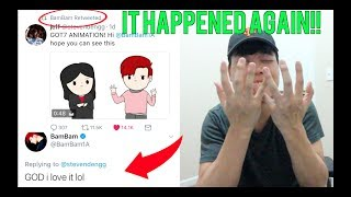 BAMBAM WATCHED AND RETWEETED MY GOT7 ANIMATION! (WE DID IT AGAIN)