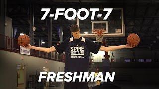 7-Foot-7 190lbs Freshman