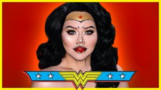 WONDER WOMAN Comic Inspired Makeup Tutorial
