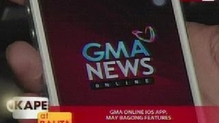 KB: GMA News Online iOS app, may bagong features