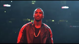 Trey Songz surprises J Cole at Powerhouse 2014 in Philadelphia