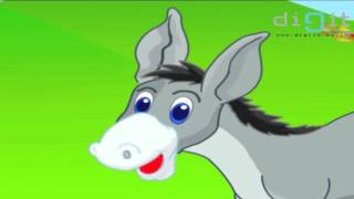 Donkey Donkey Old And Grey | Animated Nursery Rhymes & Songs For  Kids