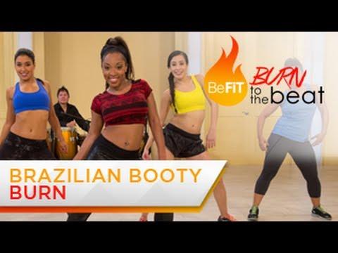Brazilian Booty Burn Workout Burn to the Beat Keaira LaShae
