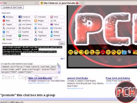 How To Get A Free Chat Box For Your Own Website
