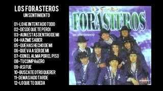 LOS FORASTEROS CD ENTERO COMPLETO UN SENTIMIENTO