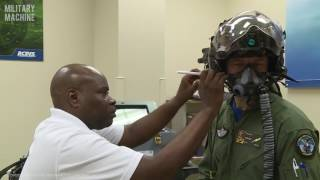 The F-35 Gen III Helmet Mounted Display System - Norwegian Pilot Gets Fitted