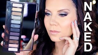 NEW Urban Decay NAKED SMOKY PALETTE | Tutorial