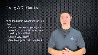 Windows PowerShell Fundamentals Chapter 07 - WMI and PowerShell