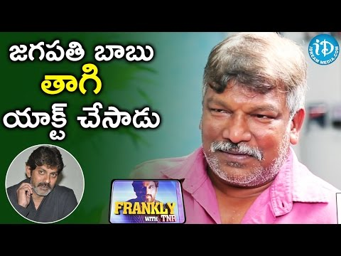 Jagapati Babu Was Drunk During Shoot - Krishna Vamsi || Frankly With TNR || Talking Movies