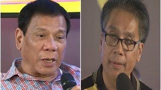 Duterte, Roxas, nagkakainitan