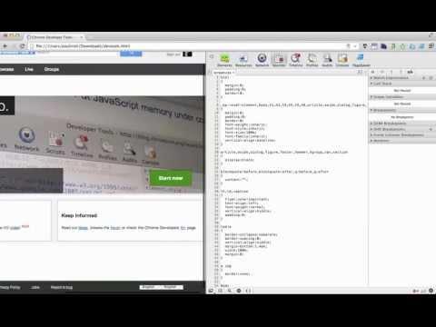 Chrome DevTools - Live Edit CSS, Save to Disk