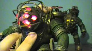 Neca's Bioshock 2: LED Big Daddy (Bouncer) Figure Review