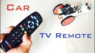How To Make Tv Remote Controlled Car | Indian LifeHacker