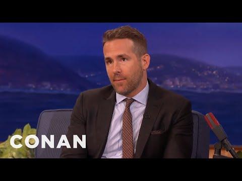 Xxx Mp4 Ryan Reynolds XXX Selfie CONAN On TBS 3gp Sex