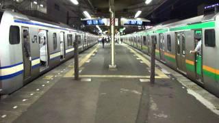 JR東海道線・JR横須賀線 戸塚駅の平日夕方ラッシュ時の乗降