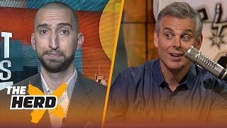 Nick Wright and Colin Cowherd on winners and losers in Kawhi's trade to Toronto | NBA | THE HERD