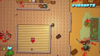 Hotline Miami 2 - Scene 14 - Stronghold - A+ Walkthrough
