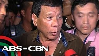 TV Patrol: Duterte, sinisi si Binay sa disqualification case