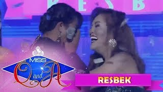 It's Showtime Miss Q & A Resbek: Elsa and Kristine are in to the semifinals