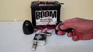 Triton Series Multifunction MP3 Wireless Car Horn Kit