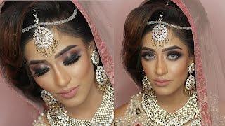Smokey Arabic eyes   Nikkah/Engagement Bride   Asian Bridal   Makeup By Sonia Aktar