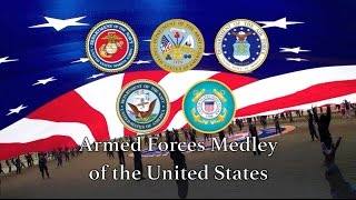 US Military Songs: United States Armed Forces Medley