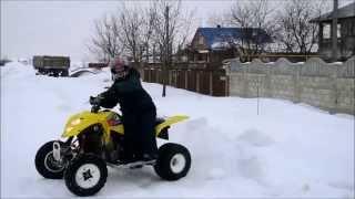 Quad Sport - Suzuki LTZ 400 (winter) [Official Video]