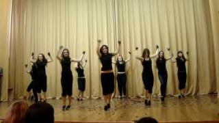 Shakira Give It Up To Me (school dance)