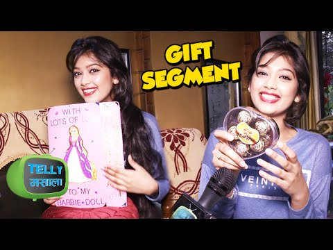 Gift Segment : Digangana Suryavanshi Receives Gifts From Fans
