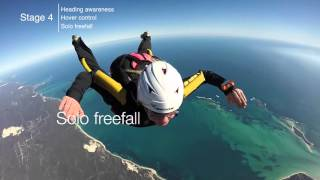 Learn to skydive AFF Course explained. Perth, Jurien Bay WA