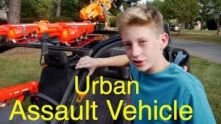 Nerf War Vehicle: Making of the N. I. A.  Urban Assault Vehicle