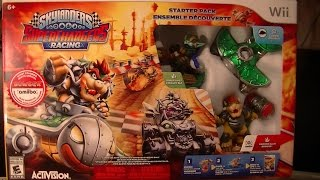 SKYLANDERS SUPERCHARGERS WII EDTION UNBOXING