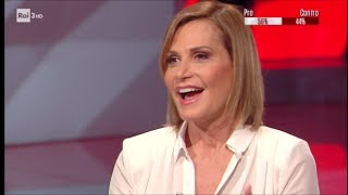 Simona Ventura - #cartabianca 13/06/2017