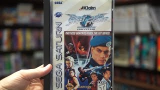 Street Fighter: The Movie: The Game (Sega Saturn) - James & Doug