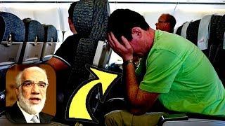 موقف عجيب جدا للشيخ عمر عبد الكافي مع ملحد في الطائرة - ماذا حدث بينهم