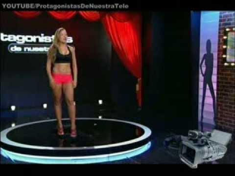 Protagonistas de Nuestra Tele 2013 Audiciones Whitney la modelo rubia que estudia diseño de modas