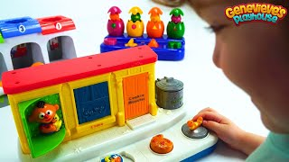Best Preschool Toys Learning Video for Toddlers Learn Colors Pop Up Pals and Toy Race Cars for Kids