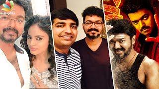 Happy Birthday Vijay anna : Comedian Sathish, Nandita & more  | ilayathalapathy 61 Mersal Spl