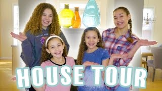 HOUSE TOUR!!!  (Haschak Sisters)