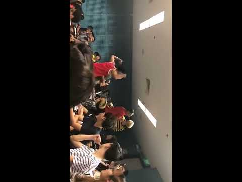 Two boys fight in Temasek Poly during lecture.