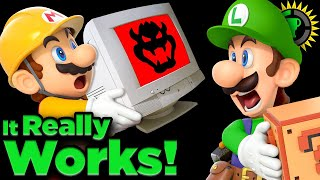 We Built A Computer in Mario Maker! | Game Theory (Super Mario Maker)