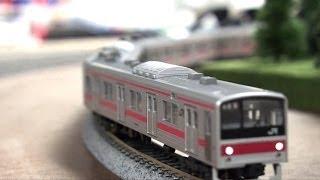 KATO N SCALE JAPANESE TRAIN 10-284 205 LENZ SILVER MINI PLUS TCS FL2