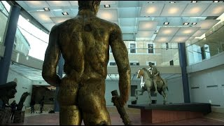 Italy Covers Up Naked Statues For Iranian President