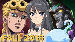 Fall 2018 Anime First Impressions!