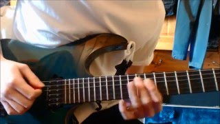The 1975 - The Sound Guitar Solo (Cover +LESSON) HD