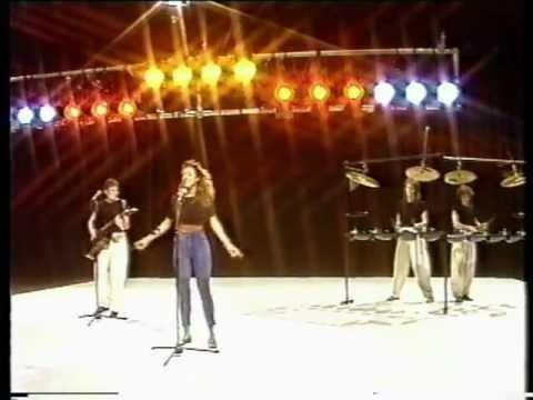 SANDRA Everlasting Love Stage 1987 WDR2 Tele Illustriete Germany