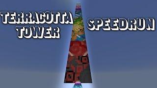 Terracotta Tower (Parkour Map) - Speedrun in 5m08